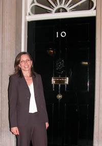 Denise in Downing Street
