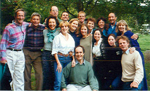 Students from the first Hoffman Process in September 1995