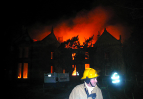 Raasay House Fire