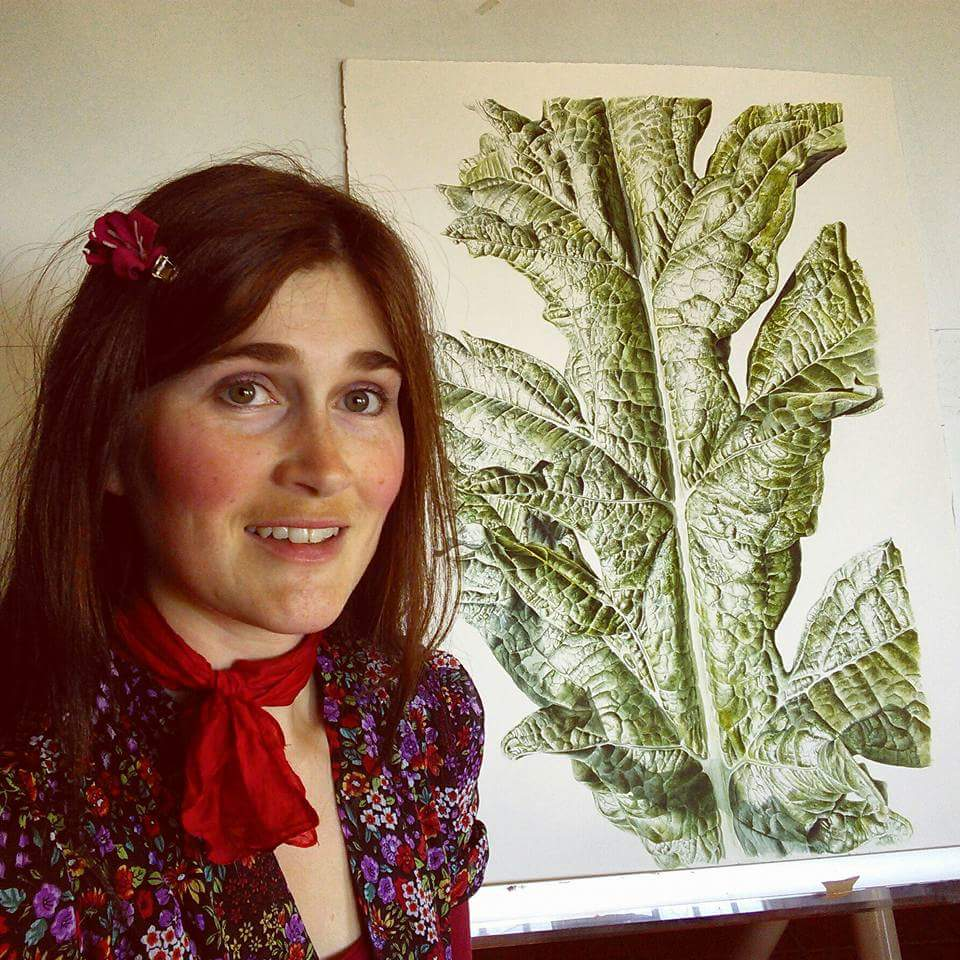 Botanical Painter Jess Shepherd