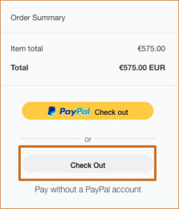 Paypal guest checkout