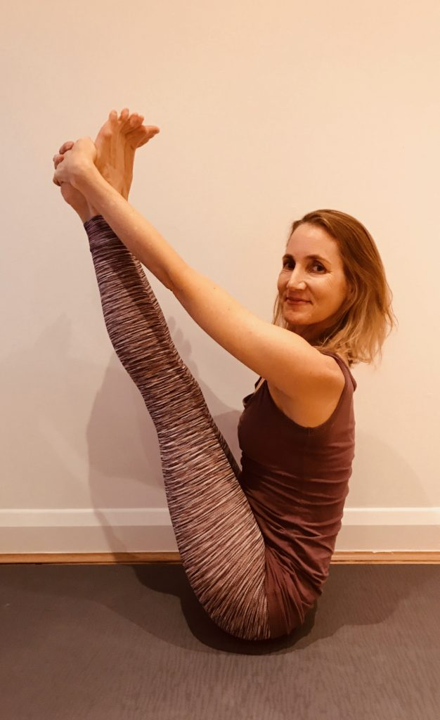 Sarah Powers Yoga Pose