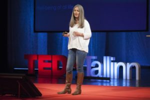 Ecocide lawyer Polly Higgins at TEDx