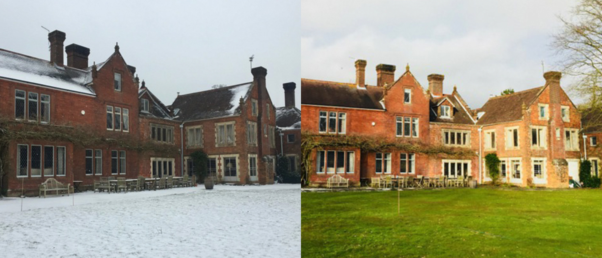 Northfields House before and after
