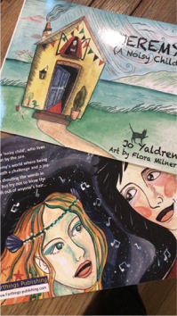 Jo Yaldren book covers