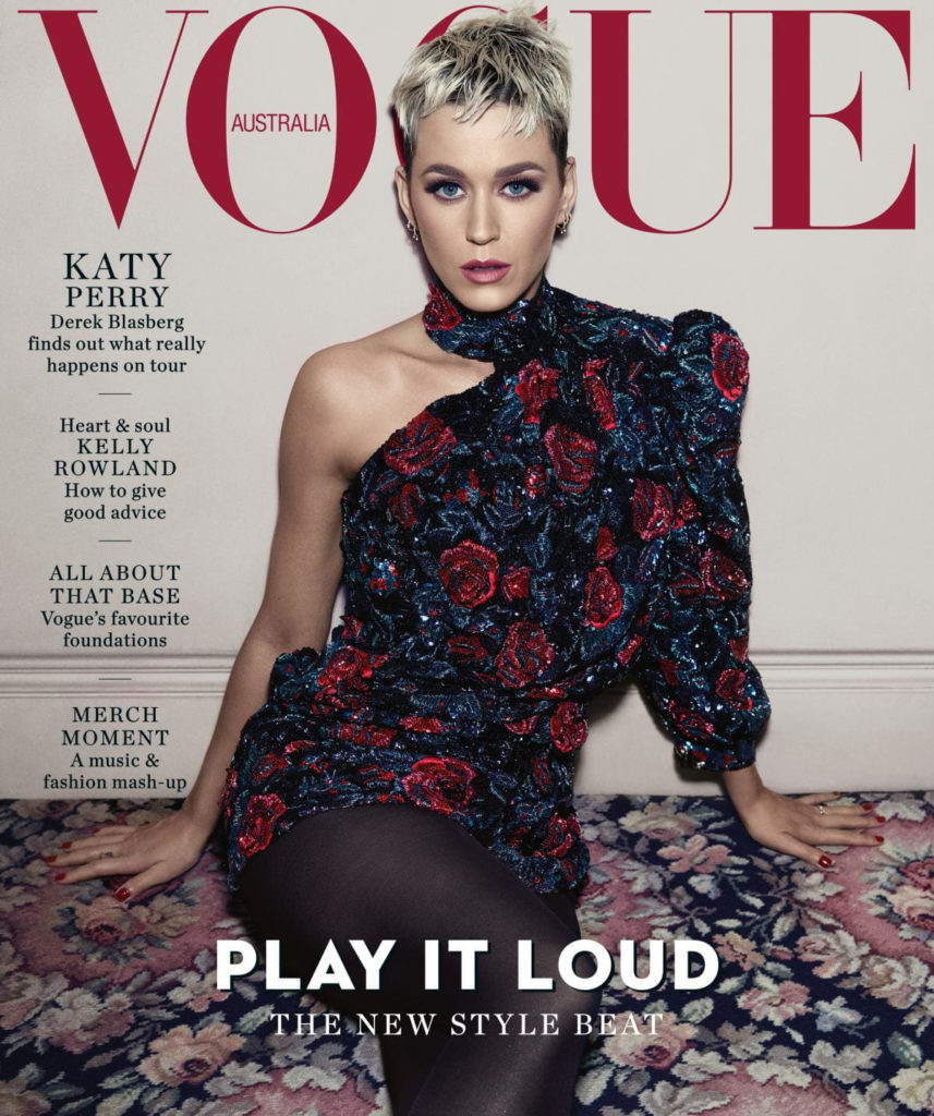 Katie Perry talks Hoffman in Australian Vogue