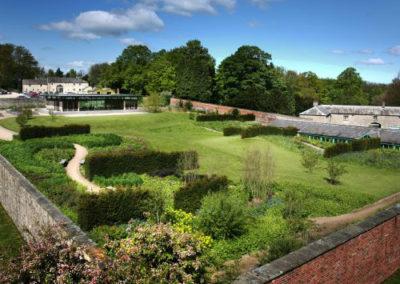 Utopia garden at Hoffman Process venue Broughton Hall