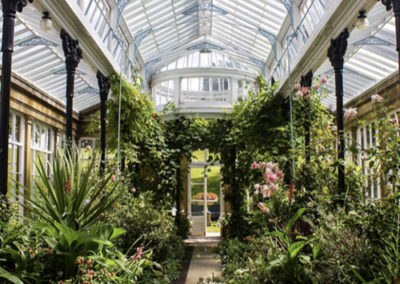 Conservatory at Hoffman Process venue Broughton Hall