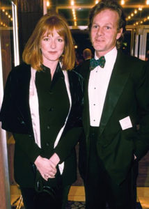 Tim Laurence and Serena Gordon pictured in 1995, the year of the first Hoffman Process in the UK