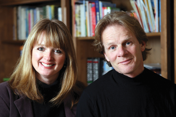 Serena Gordon and Tim Laurence in 2008