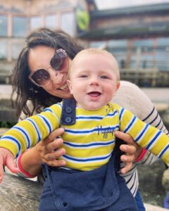Erica and her son