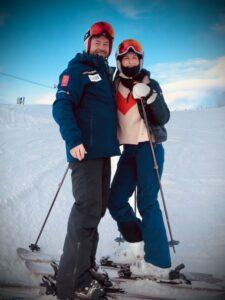 Rachel and her husband