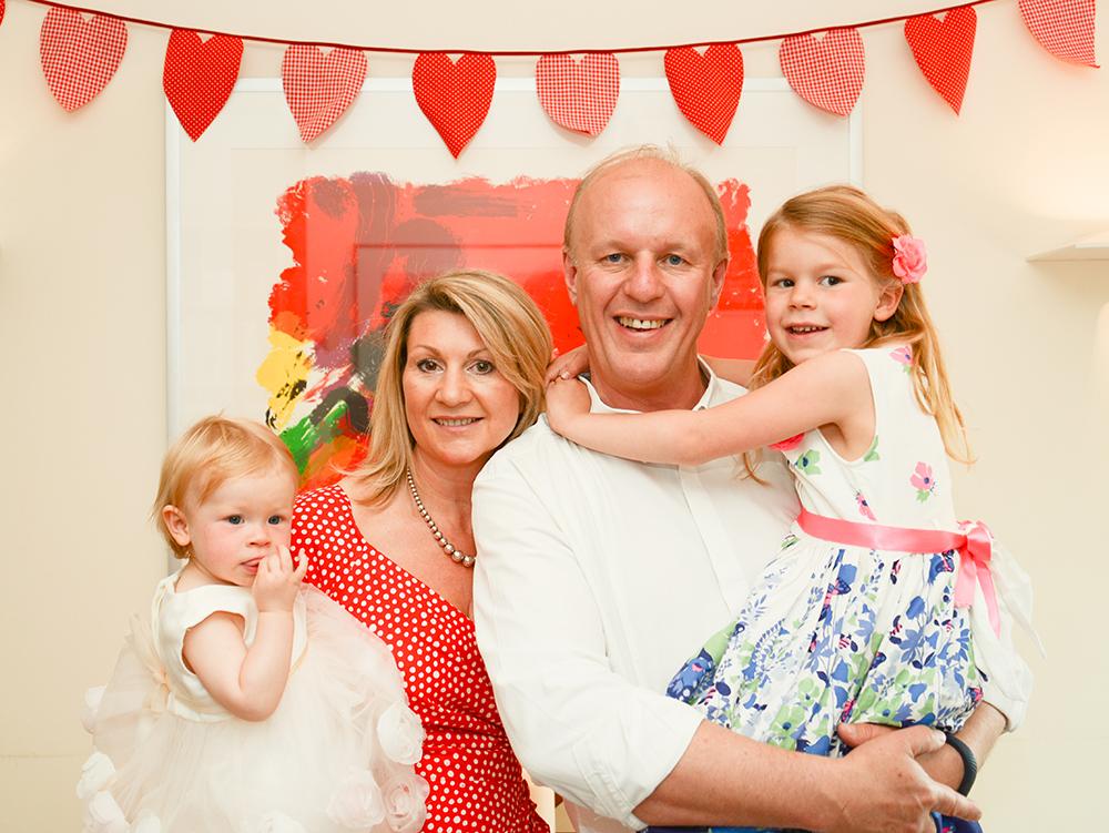 Michella nd Simon Matthews and their children
