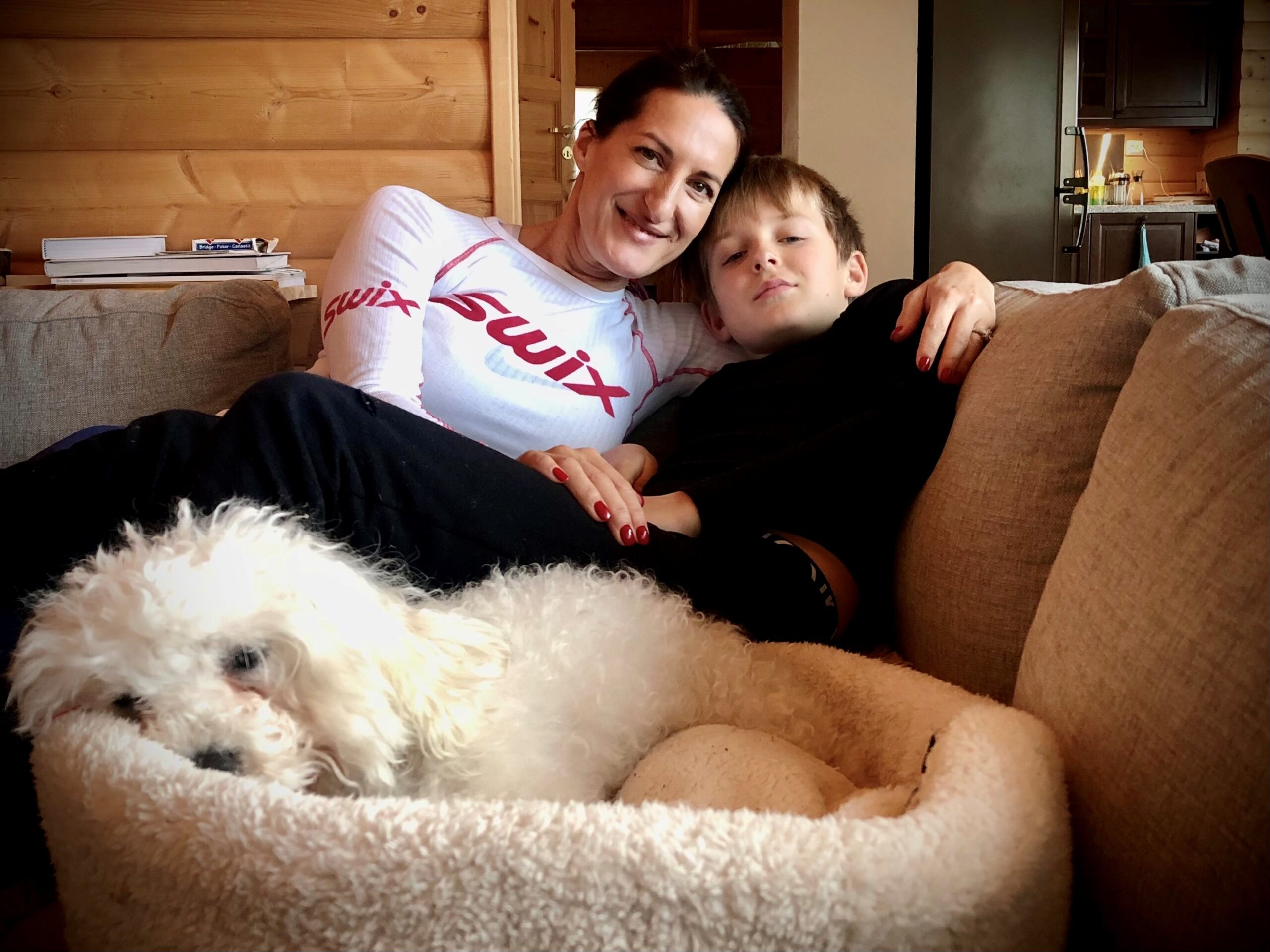 Rachel and her son