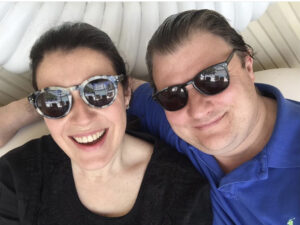 Veronica and Rupert Morris